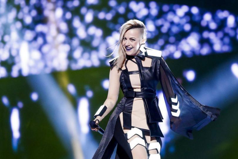 снимка 1 Четири дни до Евровизия 2016. Вижте как се подготвя Поли Генова