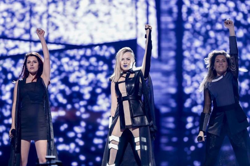 снимка 2 Четири дни до Евровизия 2016. Вижте как се подготвя Поли Генова