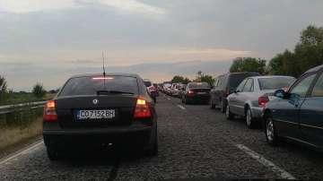 Задръстване на АМ Тракия в посока София