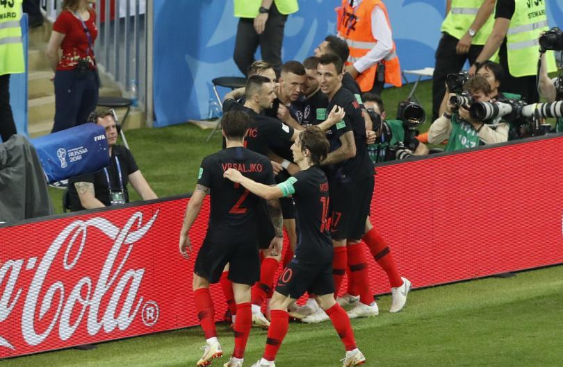 снимка 14 Хърватия отива на финал с Франция на Световното първенство в Русия (СНИМКИ)