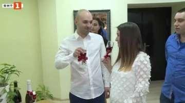 Четири двойки се венчаха в Русе на Свети Валентин