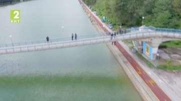Спортен риболов на Гребния канал в Пловдив