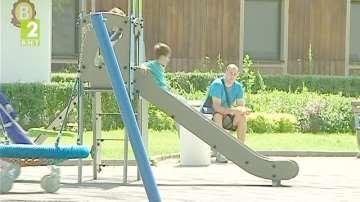 Ремонт на детски площадки в Русе