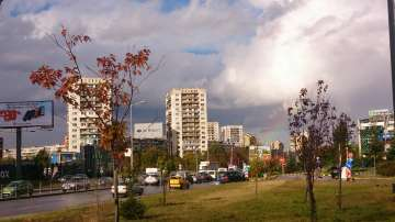Дъга над София