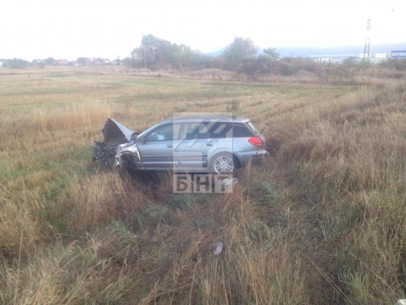 снимка 1 Една жена загина при катастрофа на Околовръстното шосе в София