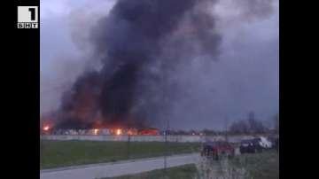 Пожар в Първомай