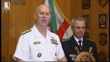 Командирът на Шести американски флот посети Варна