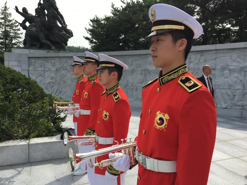 снимка 2 Първи ден от посещението на премиера Бойко Борисов в Южна Корея