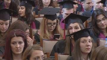 Абсолвентите от Юридическия факултет на СУ получиха дипломите си в парламента