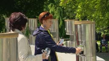 Първият бирен фонтан в света е в Словения