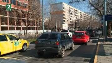 Умни светофари работят на натоварено кръстовище в кв. Кючук Париж в Пловдив