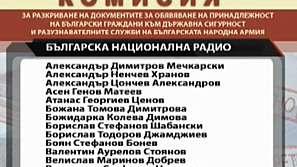 Комисията по досиетата обяви сътрудниците на бившата ДС в БНР