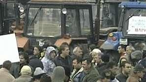 София беше блокирана от протести  на зърнопроизводители, студенти, еколози и пенсионери