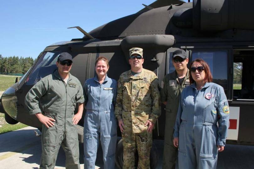снимка 3 Екипи на ВМА участваха в учение с американски колеги в Германия (СНИМКИ)