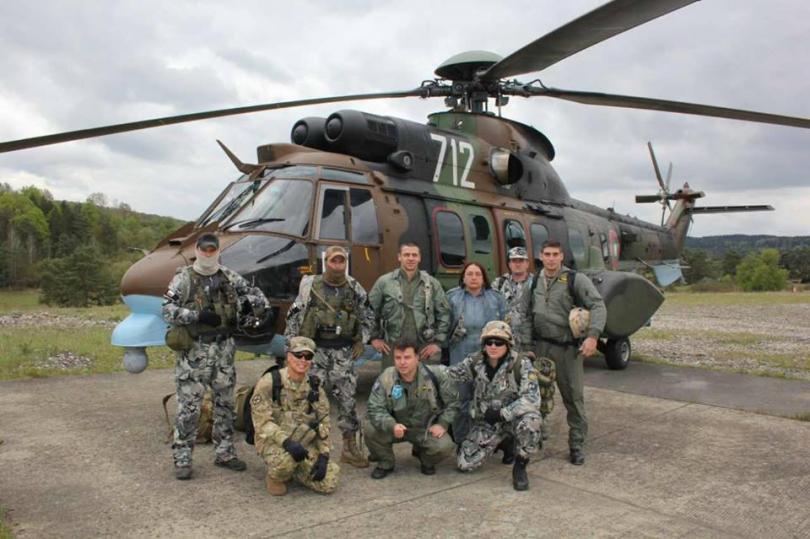Екипи на ВМА участваха в учение с американски колеги в Германия (СНИМКИ)