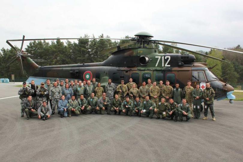 снимка 6 Екипи на ВМА участваха в учение с американски колеги в Германия (СНИМКИ)