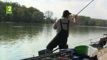 Свободен риболов на Гребната база в Пловдив
