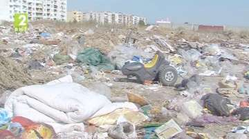 Огромно незаконно сметище в Пазарджик