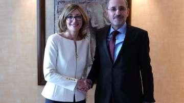 Външните министри на България и Йордания обсъдиха ситуацията в Близкия Изток