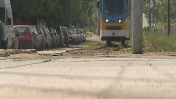 Авария временно спря движението на трамваи и тролеи в различни части от София