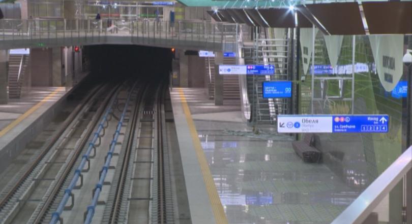 снимка 21 Разширението на метрото до Черни връх - готово до 24 юли