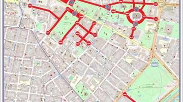Въвеждат се ограничения в движението и паркирането в София до 7 май