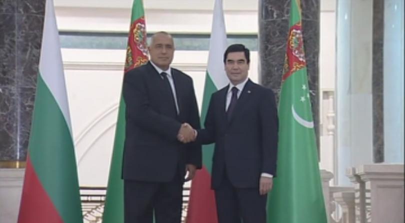 снимка 3 Бойко Борисов заминава на посещение в Туркменистан