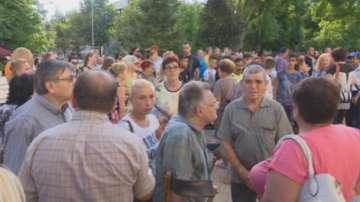 Стотици хора се включиха в бдението за малката Кристин в Сливен