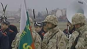 Тържествена церемония по приключване на мисията ни в Ирак