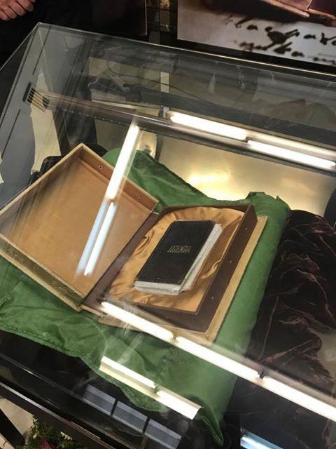 снимка 1 Тефтерчето на Левски вече е достъпно за всички в Националната библиотека