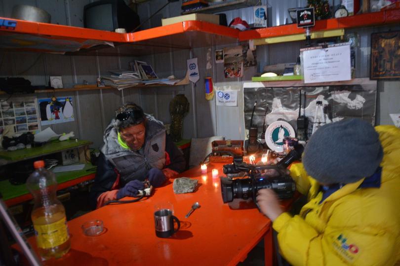 антарктически дневник куцото куче