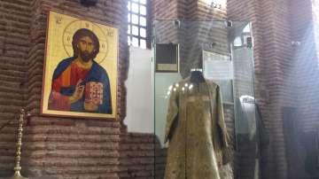 Църковните одежди на дякона Левски са в храма Света София