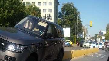 Катастрофа между джип и такси на столичния булевард Царица Йоанна (ВИДЕО)