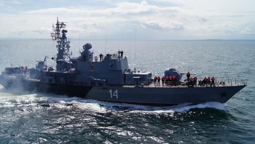 Над 20 бойни и спомагателни кораба участват в тактическо учение Черно море-2019