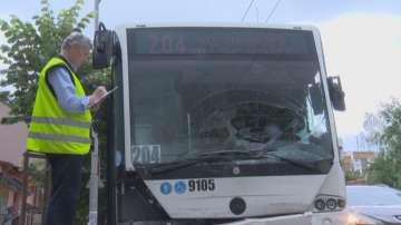 Инцидент със столичен автобус 204 се размина без ранени
