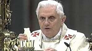 Обръщение на папа Бенедикт Шестнайсети за Рождество Христово