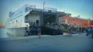 Приключи кризата с блокираните туристи на Самотраки