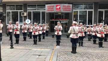 Гвардейският представителен духов оркестър на живо пред БНТ