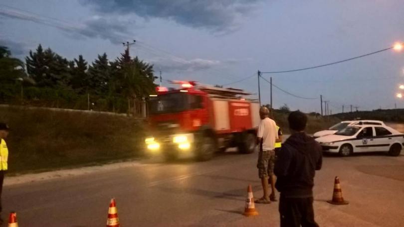 снимка 7 Овладян е пожарът  на полуостров Халкидики (ВИДЕО / СНИМКИ)