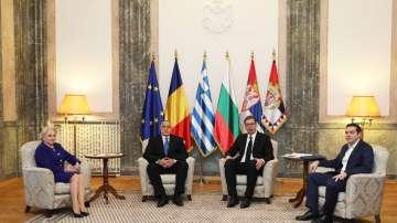 Започна Четиристранната среща на върха в Белград с участието на премиера Борисов