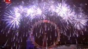 Как посрещнаха Нова година по света