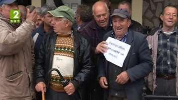 Протест на тютюнопроизводители в Сатовча