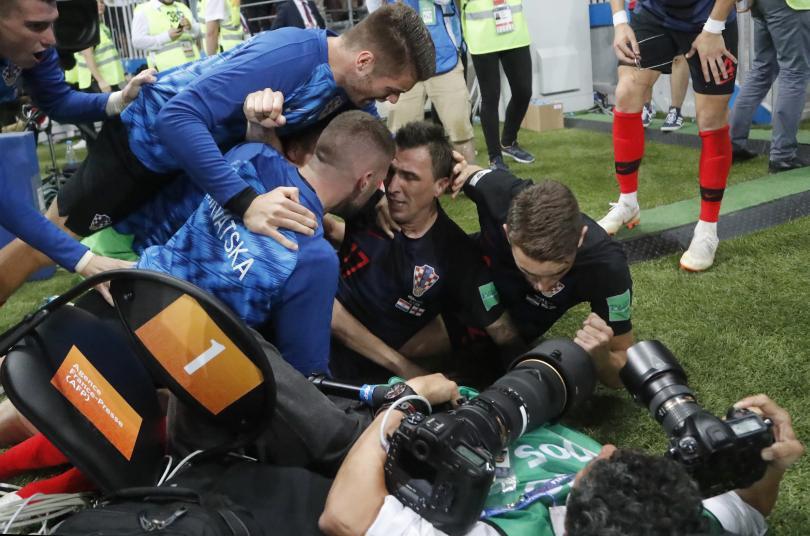 снимка 21 Хърватия отива на финал с Франция на Световното първенство в Русия (СНИМКИ)