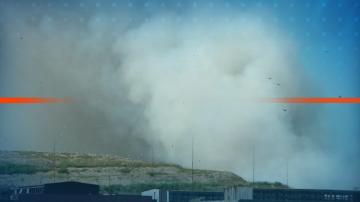 Полиция и прокуратура влязоха в завода за отпадъци край село Шишманци