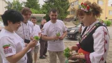 Българи от Молдова на поход от Ботево до Тараклия