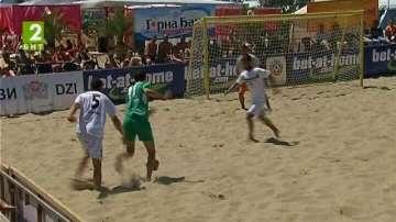 Варна ще има игрище за плажен футбол