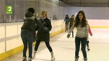 Зимно предизвикателство на ледената пързалка във Варна