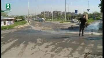Авария в квартал Селеметя остави стотици русенци без вода
