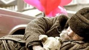 Бездомници в студа