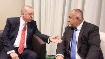 Премиерът Борисов обсъди мигрантския поток  на среща с президента Ердоган